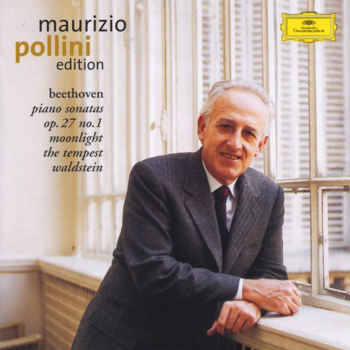 """Klaviersonaten Nr. 13; Nr. 14 """"Mondschein-Sonate""""; Nr. 17 """"Der Sturm""""; Nr. 21 """"Waldstein-Sonate"""" 0028947135425"""