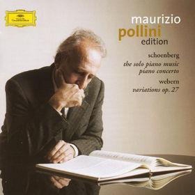 Arnold Schoenberg, Klavierwerke, Klavierkonzert, Variationen für Klavier op. 27, 00028947136125