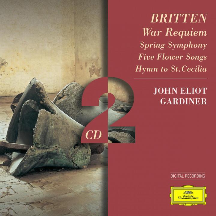 Britten: War Requiem; Spring Symphony;  5 Flower Songs; Hymn to St. Cecilia 0028945950923