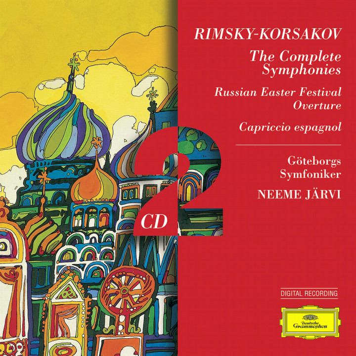 Rimsky-Korsakov: The Complete Symph: onies; Russian Easter; Capriccio es 0028945951223