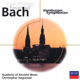 eloquence, C.P.E. Bach - 6 Hamburger Sinfonias Wq182, 00028947036425