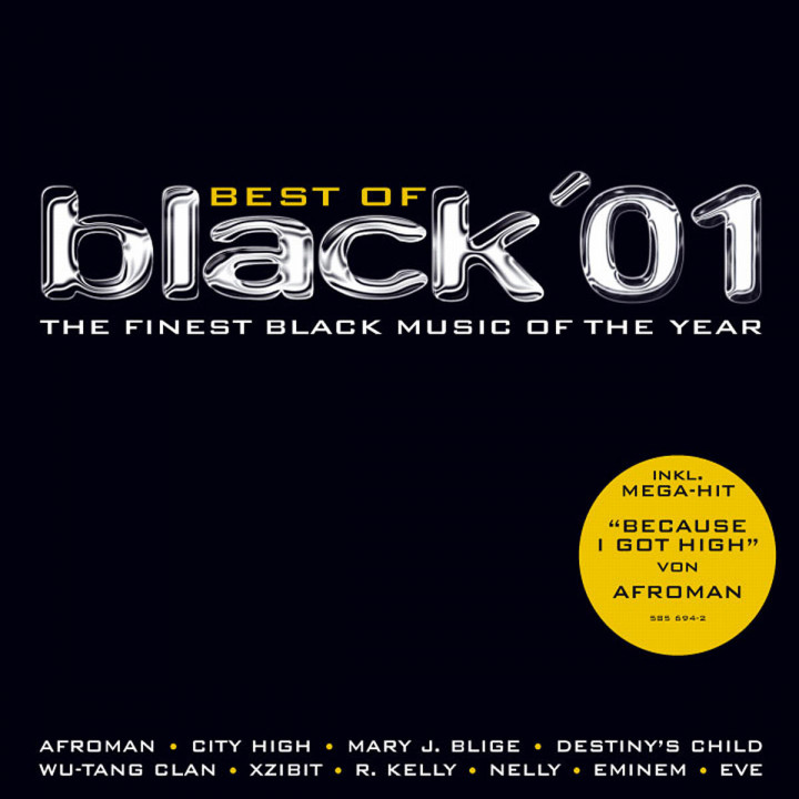 Best Of Black 2001 - The Finest Black Music Of The Year 0731458569424