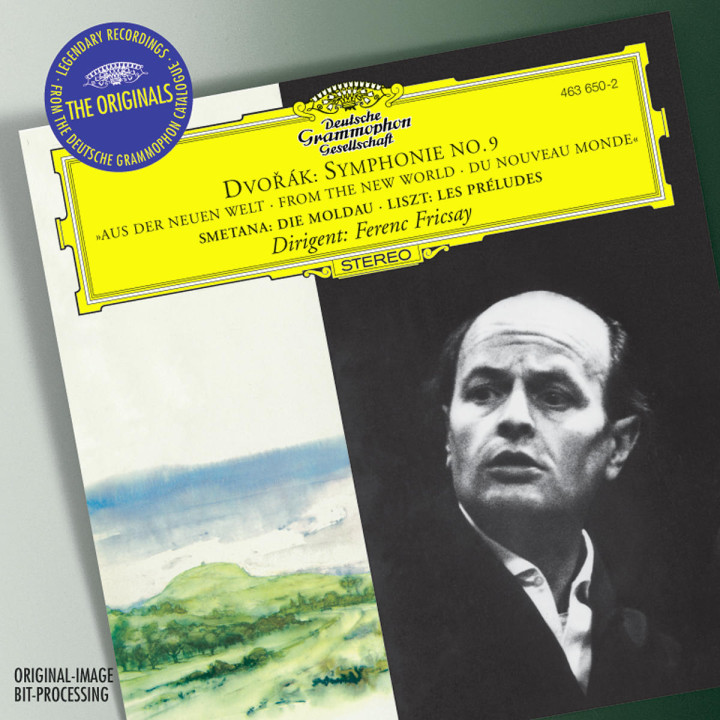 Dvorák: Symphony No.9 / Smetana: The Moldau / Liszt: Les Préludes 0028946365021
