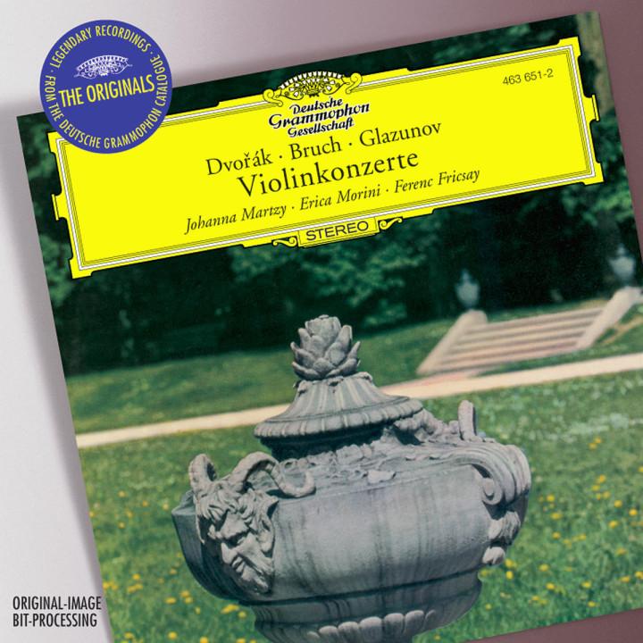 Dvorák / Bruch / Glazunov: Violin Concertos 0028946365124
