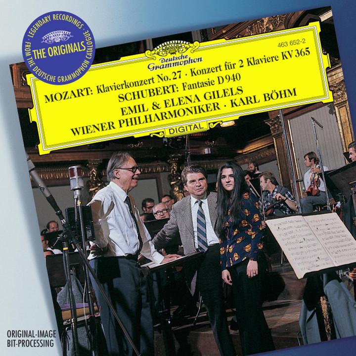 Mozart: Piano Concerto K.595; Concerto for 2 Pianos K.365 / Schubert: Fantasy D940 0028946365227