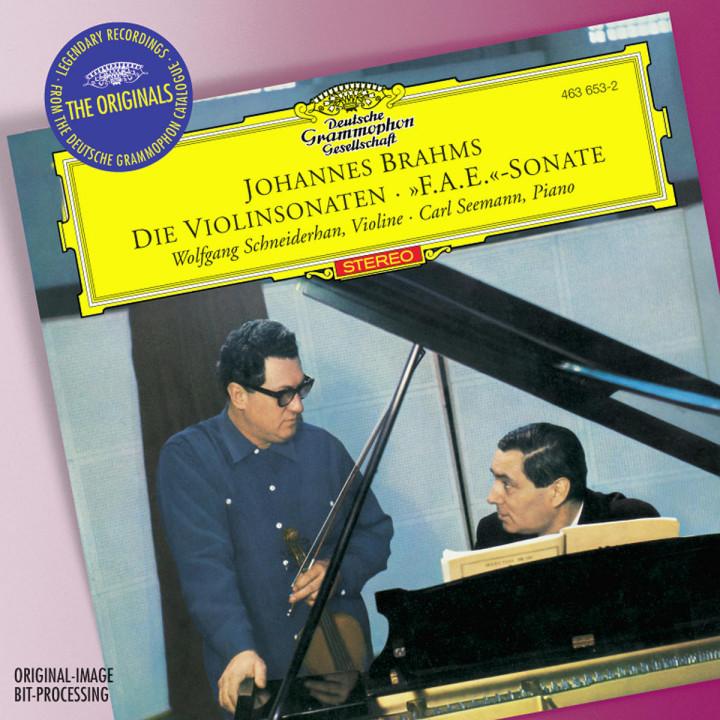 """Brahms: Violin Sonatas Opp.78, 100 & 108; Scherzo from """"F.A.E"""" -Sonata 0028946365320"""
