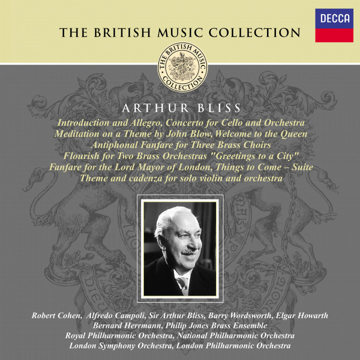 Bliss: Orchestral Works 0028947018627