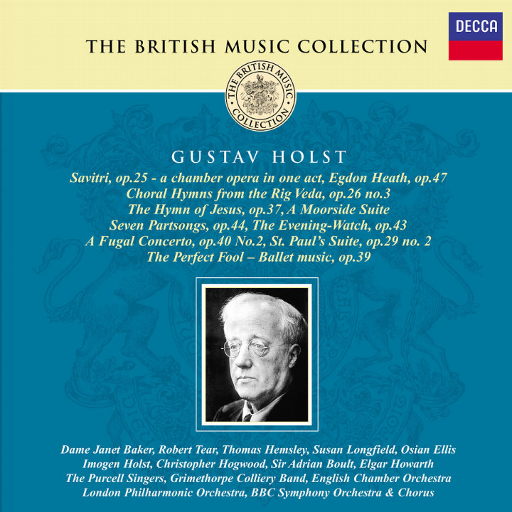 Savitri; St. Paul's Suite; The Perfect Fool; Egdon Heath; The Hymn Of Jesus; A Fugal Concerto 0028947019123