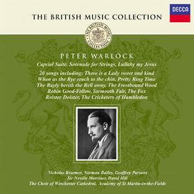 Sir Neville Marriner, Capriol Suite, Serenade For Strings, Lullaby My Jesus, Songs, 00028947019923