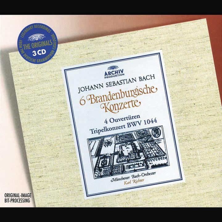 Bach: 6 Brandenburg Concertos; 4 Ouvertures; Tripel Concerto BWV 1044 0028946365722