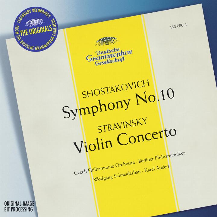 Stravinsky: Violin Concerto in D / Shostakovich: Symphony No.10, Op.93 0028946366620