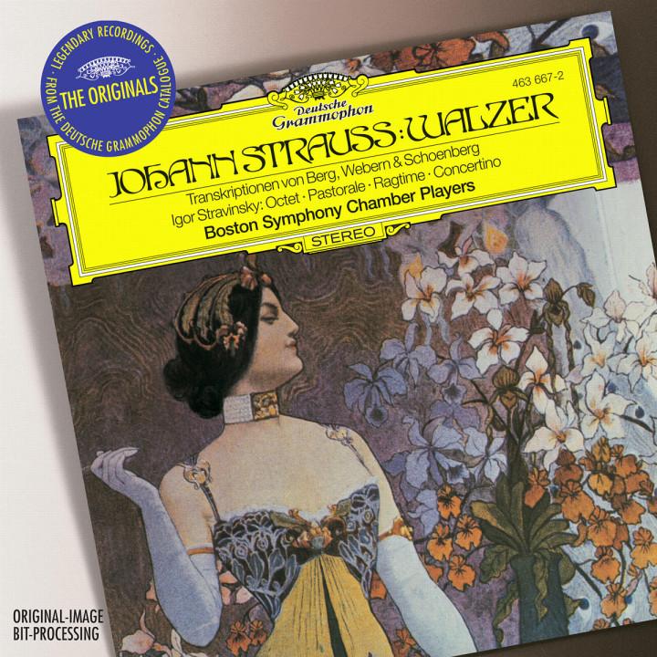 Strauss, J. II (transc.: Berg, Schoenberg, Webern): Waltzes / Stravinsky: Octet; Pastorale; Ragtime 0028946366723