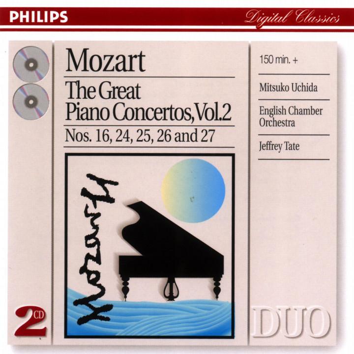 Mozart: Great Piano Concertos Vol.2 0028946891825