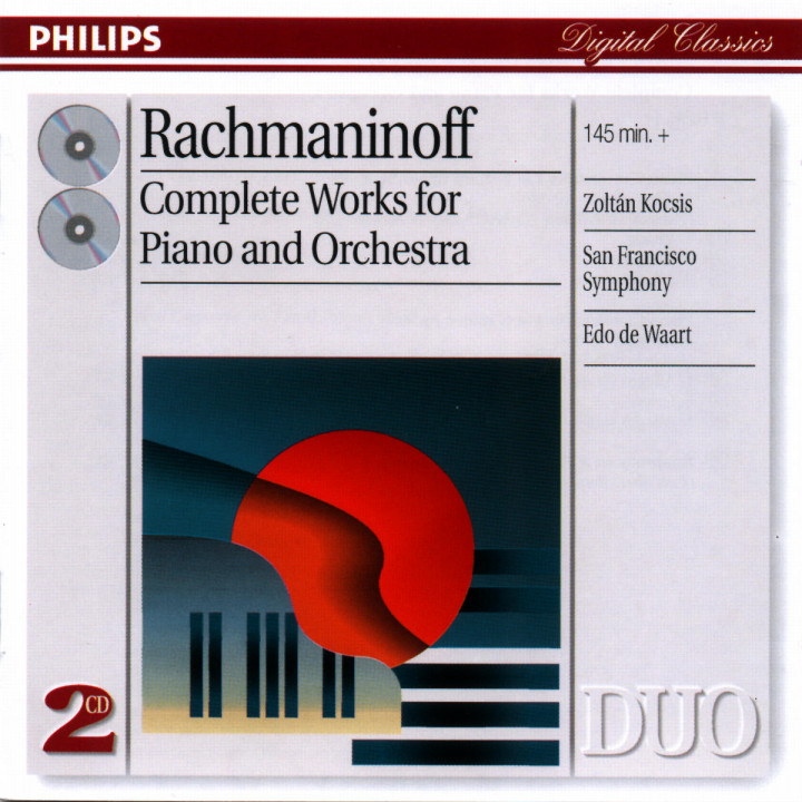 Rachmaninov: Complete Works for Piano and Orchestra 0028946892125