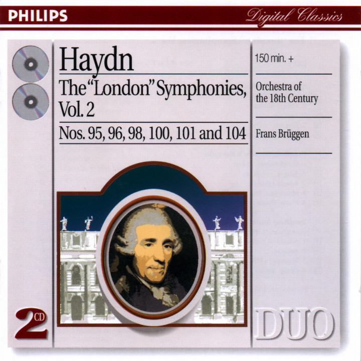 "Haydn: The ""London"" Symphonies, Vol.2 0028946892723"