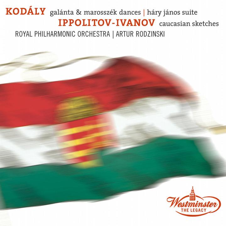Tänze aus Galánta; Marosszéker Tänze; Háry János Suite; Kaukasische Skizzen 0028947126722