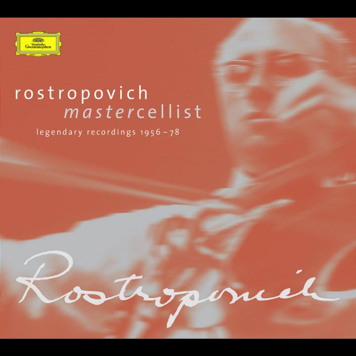 Rostropovich - Mastercellist. Legendary Recordings 1956-1978 0028947162029