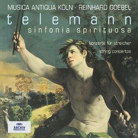 Sinfonia Spirituosa - Konzerte für Streicher (Vol. 2), 00028947149224