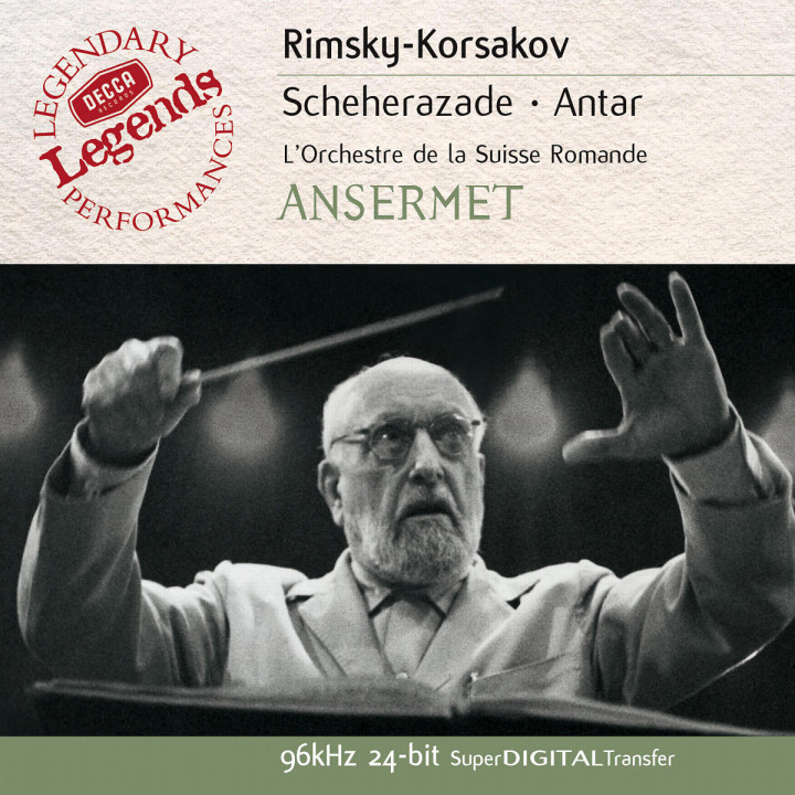 Rimsky-Korsakov: Scheherazade; Antar 0028947025328