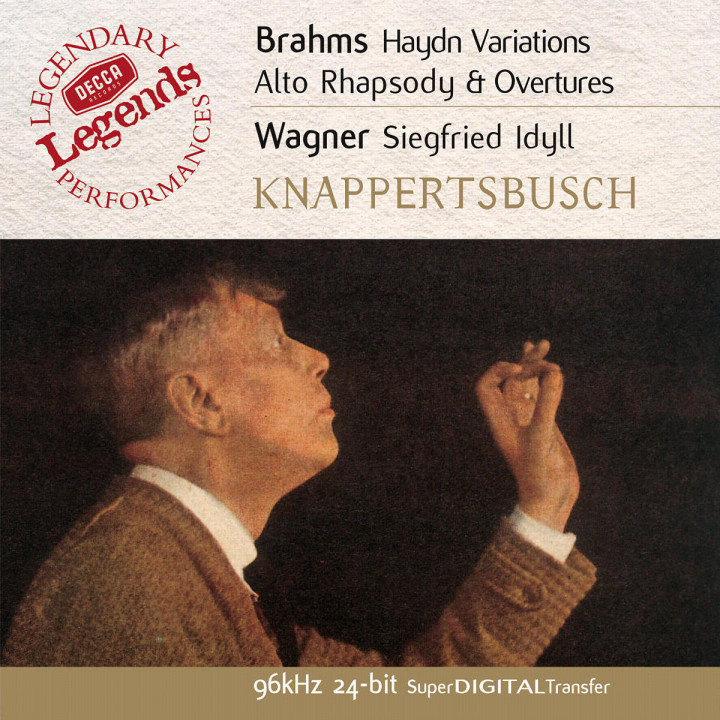 Ouvertüren; Alt-Rhapsodie; Haydn-Variationen; Siegfried Idyll 0028947025421
