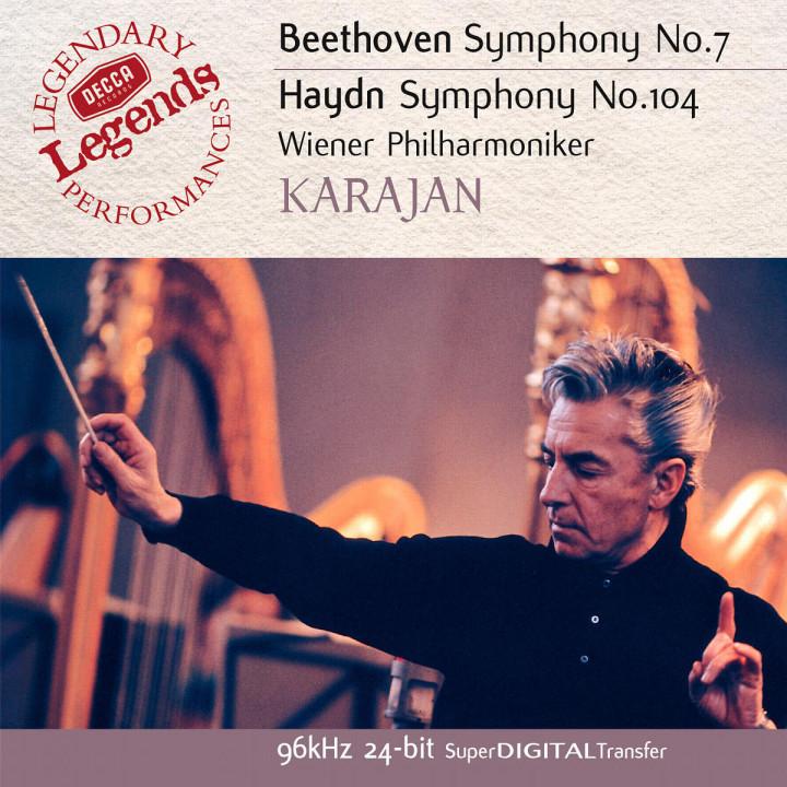 Beethoven: Symphony No.7 / Haydn: Symphony No.104 0028947025627