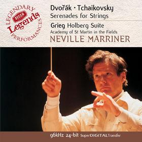 Antonín Dvorák, Dvorák / Grieg / Tchaikovsky: String Serenades, 00028947026228
