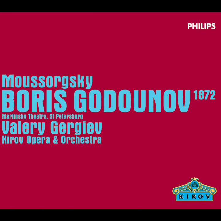 Moussorgsky: Boris Godounov (1872 Version) 0028947055523