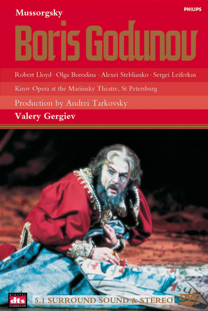 Moussorgsky: Boris Godunov - 1872 Version 0044007508996