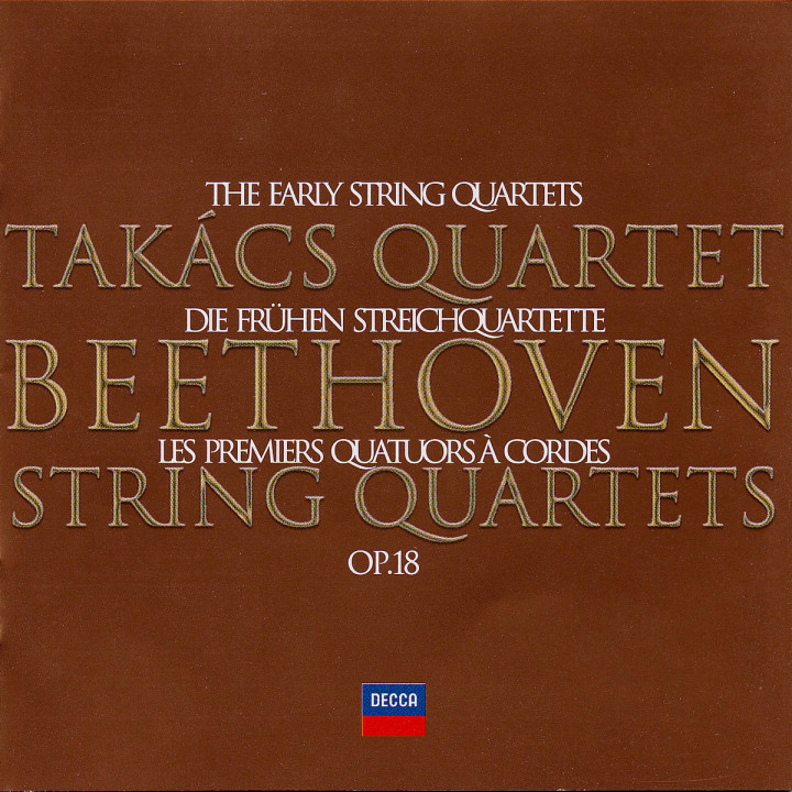 Beethoven: The Early Quartets 0028947084820