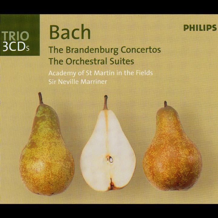 Bach, J.S.: Brandenburg Concertos/Orchestral Suites/Violin Concertos 0028947093420