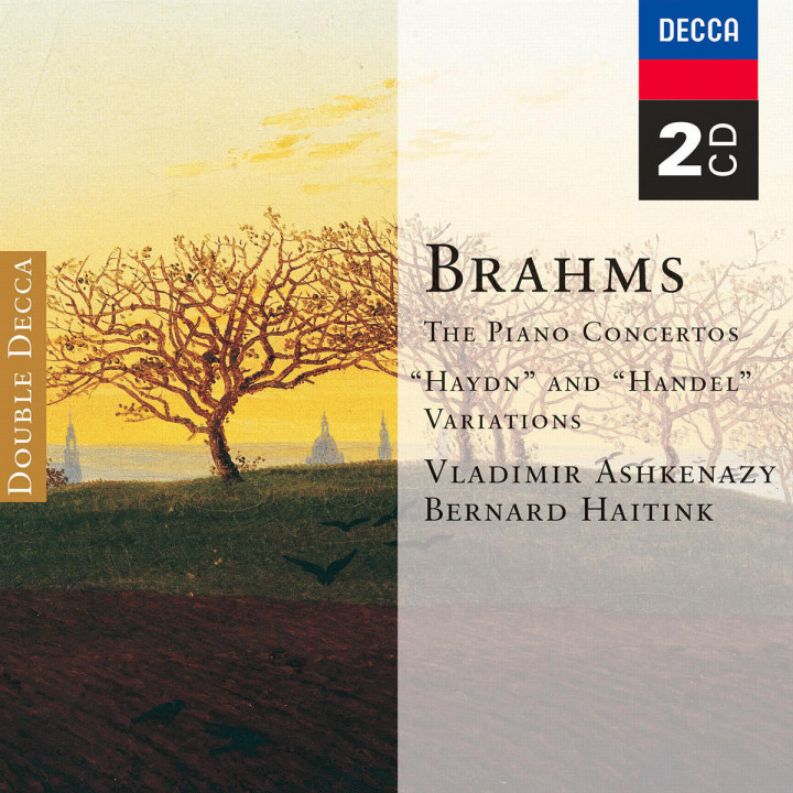 Brahms: The Piano Concertos; 'Haydn' and 'Handel' Variations 0028947051921