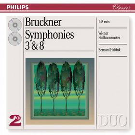 Anton Bruckner, Bruckner: Symphonies Nos.3 & 8, 00028947053422