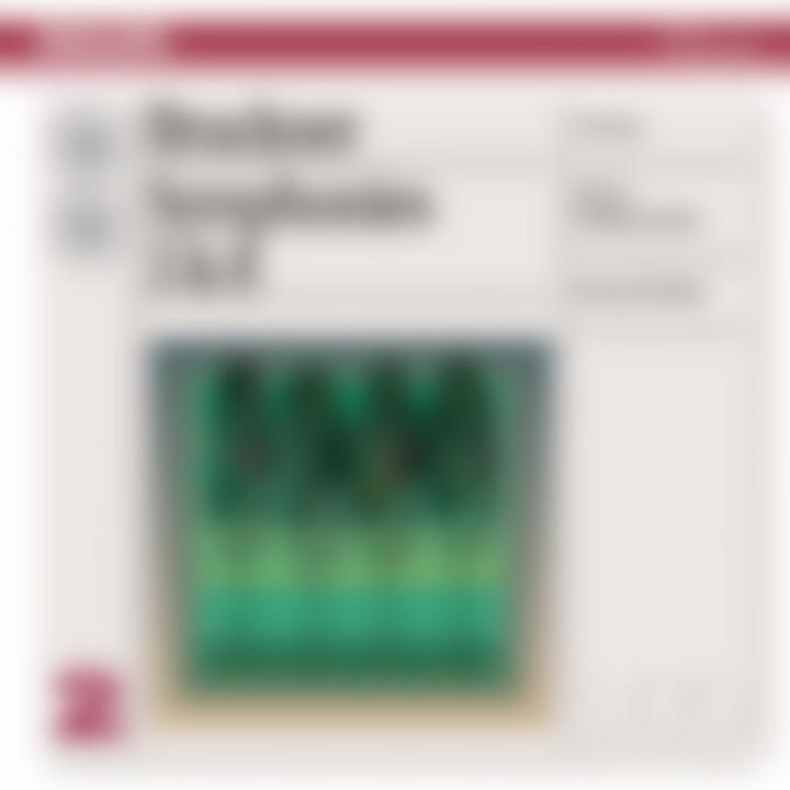 Bruckner: Symphonies Nos.3 & 8 0028947053428