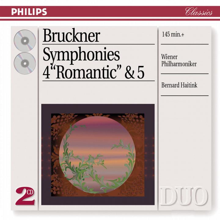 Bruckner: Symphonies Nos.4 & 5 0028947053727