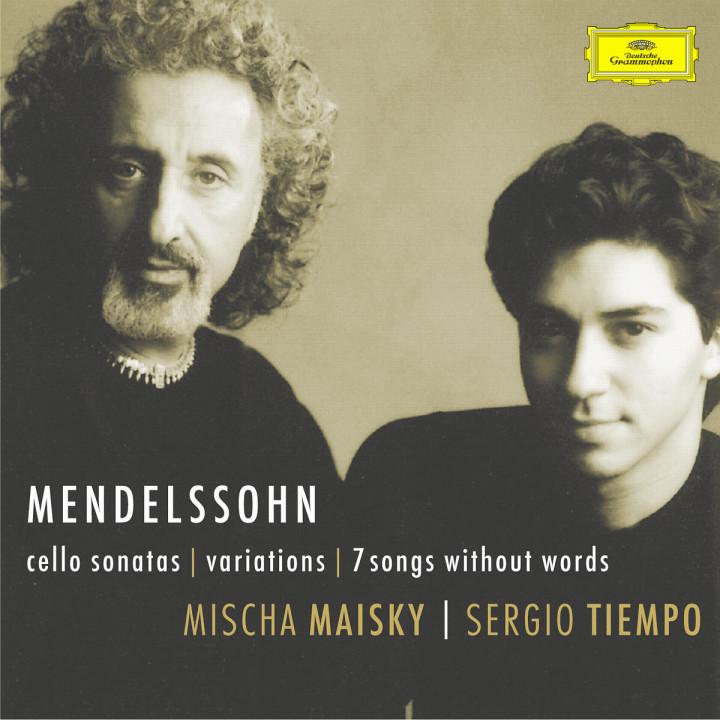 Cellosonaten; Variationen; 7 Lieder ohne Worte 0028947156525