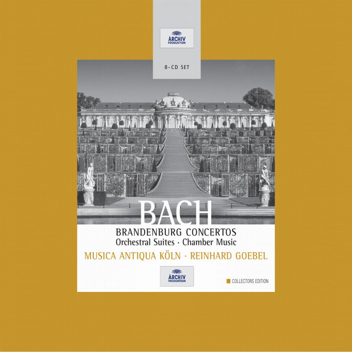 Bach: Brandenburg Concertos; Orchestral Suites; Chamber Music 0028947165620