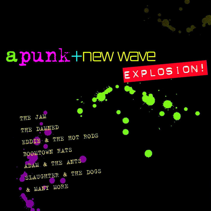 A Punk & New Wave Explosion! 0731454459428