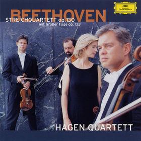 Ludwig van Beethoven, Streichquartett op. 130 mit großer Fuge op. 133, Fünf vierstimmige Fugen KV 405, 00028947158028
