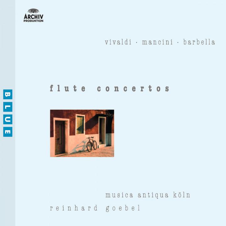 Vivaldi / Mancini / Barbella: Flute Concertos 0028947172929