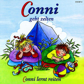 Conni, 04: Conni geht zelten / Conni lernt reiten, 00044001866722
