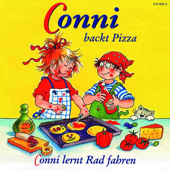 Conni backt Pizza / Conni lernt Rad fahren 0044001866942