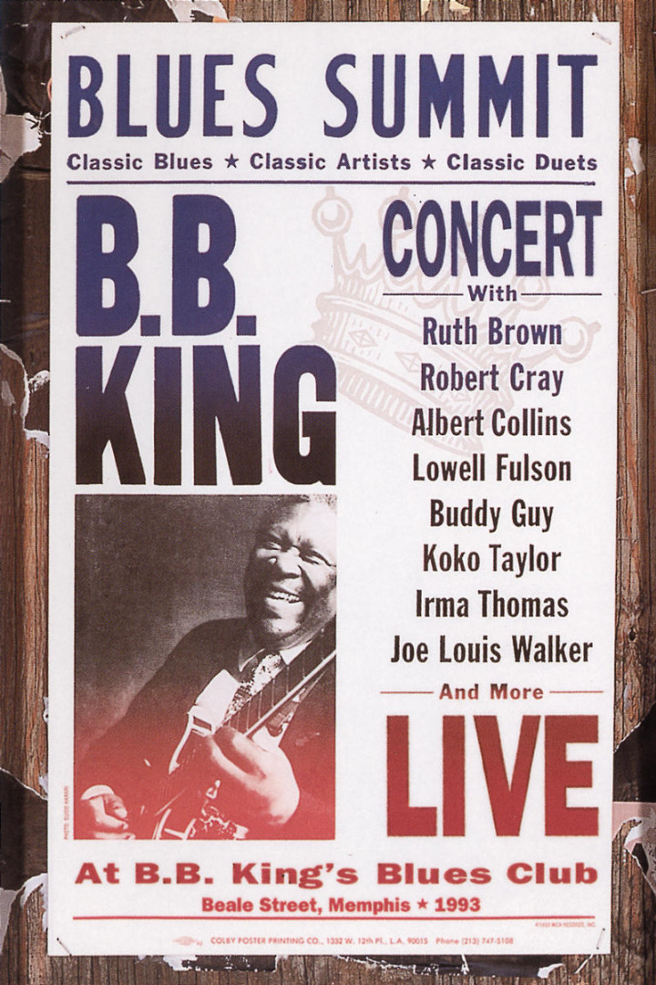 Blues Summit Concert 0008811084794