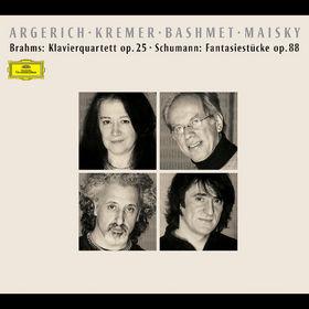 Martha Argerich, Brahms: Klavierquartett op. 25, Schumann: Fantasiestücke op. 88, 00028946370025