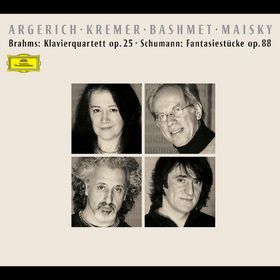 Johannes Brahms, Brahms: Klavierquartett op. 25, Schumann: Fantasiestücke op. 88, 00028946370025