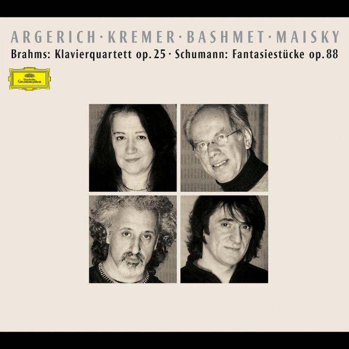 Brahms: Piano Quintet / Schumann: Fantasiestücke 0028946370029