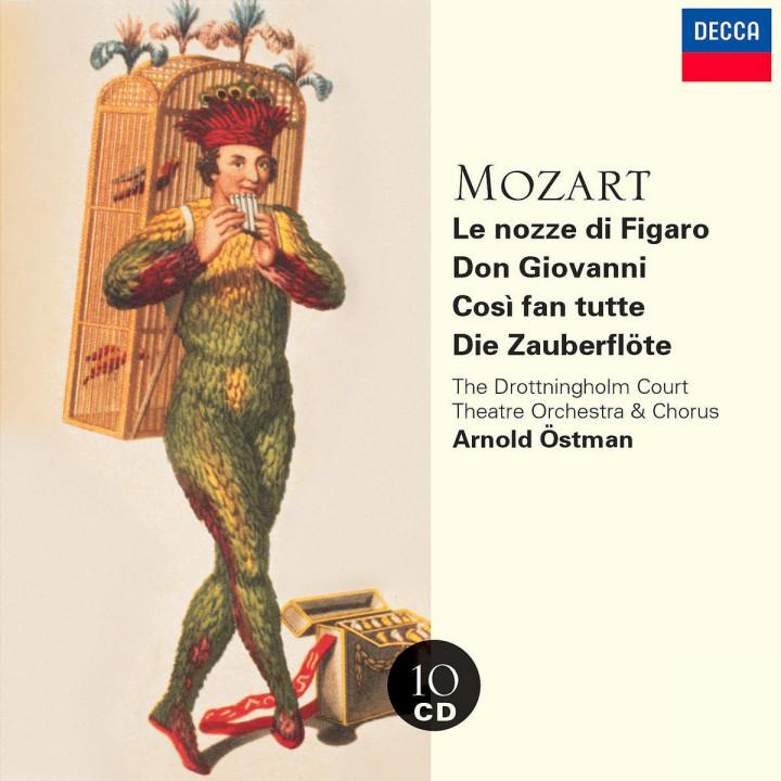 Le Nozze di Figaro; Don Giovanni; Così fan tutte; Die Zauberflöte 0028947086028