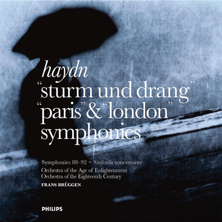 Haydn: Symphonies - Sturm und Drang, Paris & London 0028947301527