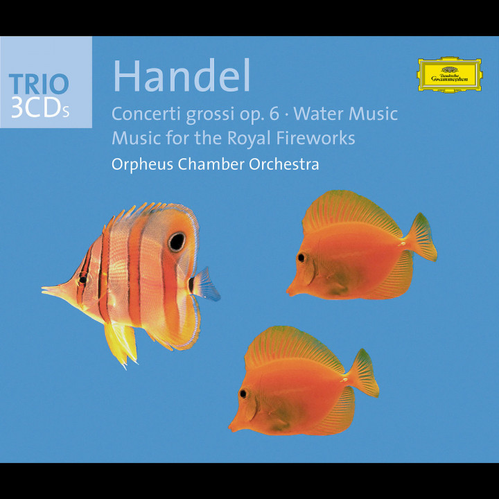 Handel: Concerti grossi op. 6, Water Music, Fireworks Music 0028947175829