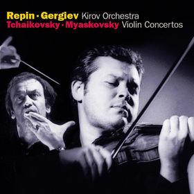 Vadim Repin, Tchaikovsky / Miaskovsky: Violin Concertos, 00028947334323