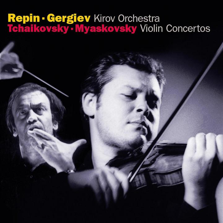 Tchaikovsky / Miaskovsky: Violin Concertos 0028947334323